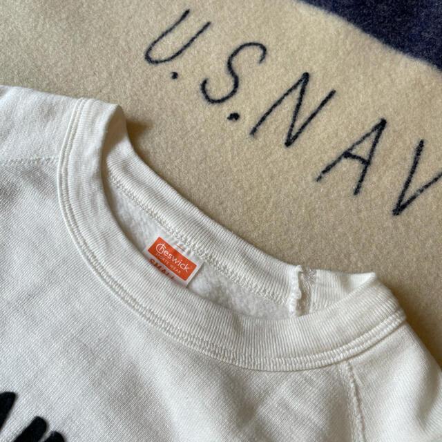 BEAMS(ビームス)のCHESWICK カレッジスウェット メンズのトップス(スウェット)の商品写真