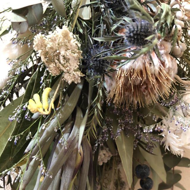 スーちゃん様専用 ドライフラワー スワッグ No.9 ハンドメイドのフラワー/ガーデン(ドライフラワー)の商品写真