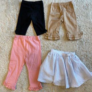 コンビミニ(Combi mini)の女の子 80 ズボン パンツ スカート セット(パンツ)