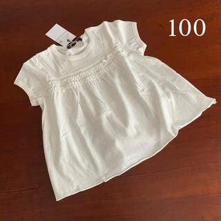 エスティークローゼット(s.t.closet)の⭐️未使用品 エスティクローゼット カットソー Tシャツ 100サイズ(Tシャツ/カットソー)