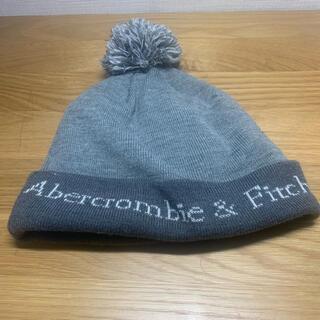 アバクロンビーアンドフィッチ(Abercrombie&Fitch)の美品 ニット帽 ニットキャップ アバクロ abecrombie メンズ 帽子(ニット帽/ビーニー)