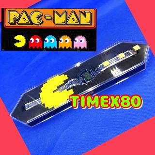 タイメックス(TIMEX)のTIMEX パックマン限定コラボモデル  TW2U31900 腕時計 シルバー(腕時計(デジタル))