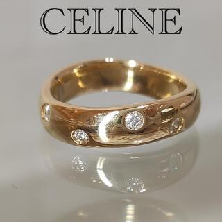 セリーヌ(celine)の※お値下げ不可 CELINE セリーヌ ダイヤ ルビー リング 神楽坂宝石(リング(指輪))