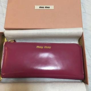 ミュウミュウ(miumiu)のミュウミュウ 財布(財布)