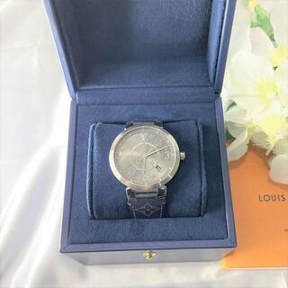 ルイヴィトン(LOUIS VUITTON)の美品☆ 2019年 ルイヴィトン タンブールスリム Q1DM0(腕時計(アナログ))