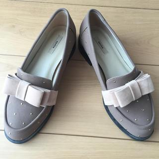 ランダ(RANDA)のRANDA リボンローファー(ローファー/革靴)