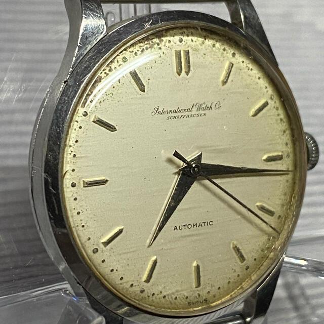 IWC(インターナショナルウォッチカンパニー)のこうちゃん様専用 腕時計 シャフハウゼン 自動巻 IWC メンズの時計(腕時計(アナログ))の商品写真