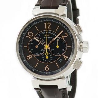 ルイヴィトン(LOUIS VUITTON)のルイヴィトン  タンブール クロノグラフ LV277 Q114A 自動巻(腕時計(アナログ))