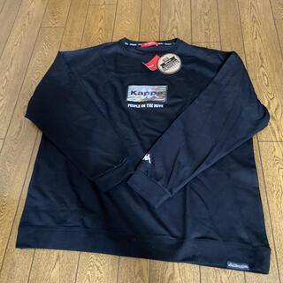 カッパ(Kappa)のkappa ロンT 黒(Tシャツ/カットソー(七分/長袖))