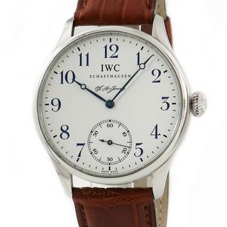 インターナショナルウォッチカンパニー(IWC)のIWC  ポルトギーゼ F.A.ジョーンズ IW544203 手巻き メ(腕時計(アナログ))