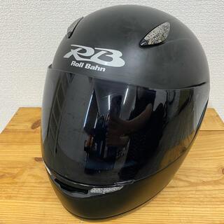 ヤマハ(ヤマハ)のYAMAHAフルフェイスヘルメット【黒】(ヘルメット/シールド)