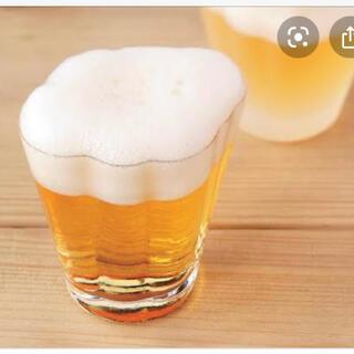 スガハラ(Sghr)のスガハラ sghr ビールグラス小 雲 3つ(グラス/カップ)