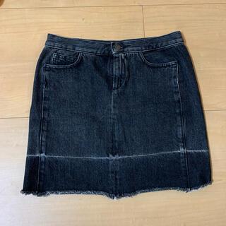 エムエムシックス(MM6)のMM6 デニムスカート(ミニスカート)