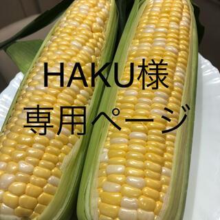 HAKU様専用ページ とうもろこし(野菜)
