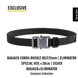 ワンエルディーケーセレクト(1LDK SELECT)のBAGJACK バッグジャック エリミネーター ベルト(ベルト)