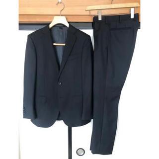 青山 - 定価56800円 HILTON スーツ セットアップ YA4 ブラック 青山