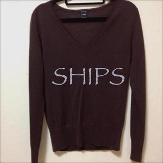 シップス(SHIPS)のSHIPS*シンプルセーター(ニット/セーター)