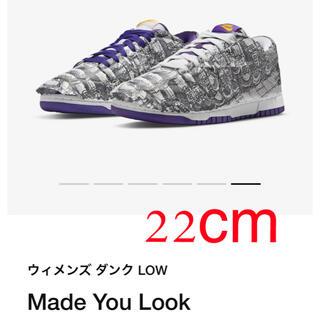 """ナイキ(NIKE)のNIKE WMNS DUNK LOW """"MADE YOU LOOK"""" W22(スニーカー)"""
