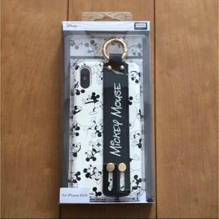 ミッキーマウス(ミッキーマウス)の💝iPhone XS/X ケースカバー💝(iPhoneケース)