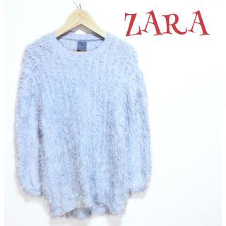 ザラ(ZARA)の【激カワ】❤️ZARA❤️ ニット セーター〈140〉 子供服 青 ザラ 春 夏(ニット)