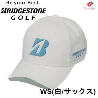 ブリヂストン(BRIDGESTONE)の新品 ブリヂストン BSGプロモデル ゴルフキャップ 帽子 Fサイズ WS(キャップ)