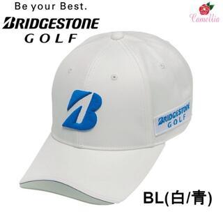 ブリヂストン(BRIDGESTONE)の新品 ブリヂストン BSGプロモデル ゴルフキャップ 帽子 Fサイズ BL(キャップ)