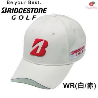 ブリヂストン(BRIDGESTONE)の新品 ブリヂストン BSGプロモデル ゴルフキャップ 帽子 Fサイズ WR(キャップ)