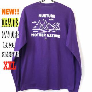 ステューシー(STUSSY)のめちゃ可愛いです☆ DRAVUS NATURE ロンT 紫 パープル(Tシャツ/カットソー(七分/長袖))