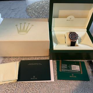 ロレックス(ROLEX)のロレックス チョコレート コスモデイトナ(腕時計)