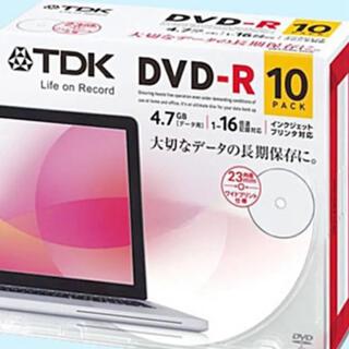 TDK - TDK データ用DVD-R 4.7GB 16倍速対応 10PACK