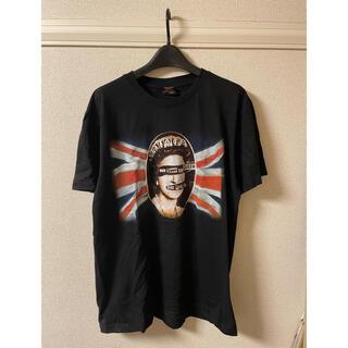 セックスピストルズ SEX PISTOLS Tシャツ カットソー 半袖 黒 L(Tシャツ/カットソー(半袖/袖なし))