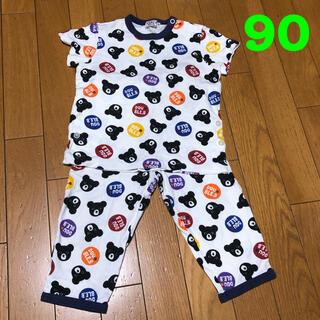 ダブルビー(DOUBLE.B)のミキハウス ダブルB  半袖パジャマ 90cm  ③/6(パジャマ)