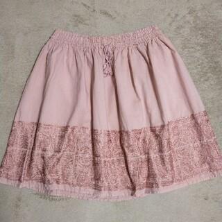 ジェイクルー(J.Crew)の値下げ! J .CREW 刺繍スカート(ひざ丈スカート)