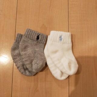 ラルフローレン(Ralph Lauren)のラルフローレン ベビーくつ下 2足セット(靴下/タイツ)