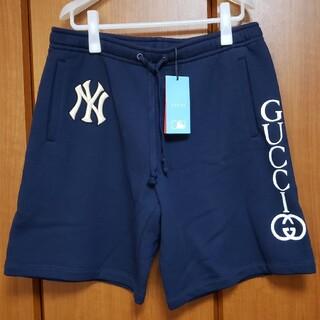 グッチ(Gucci)の【レア】GUCCI × MLB Yankees ショートパンツ L(ショートパンツ)
