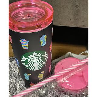 スターバックスコーヒー(Starbucks Coffee)のスタバ福袋2021フラペチーノ ブラックステンレスタンブラー 355ml (タンブラー)
