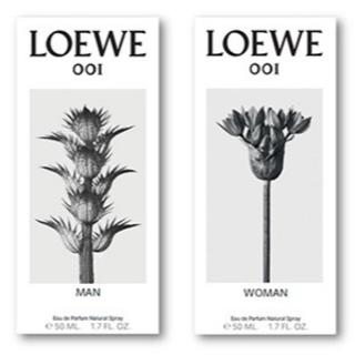 ロエベ(LOEWE)の【恋人とペアで】ロエベ 001MAN/001WOMAN 各2ml(香水(女性用))