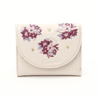 Cocoonist - 新品未使用 アフタヌーンティー コクーニスト フォギーフラワー刺繍ミニ財布