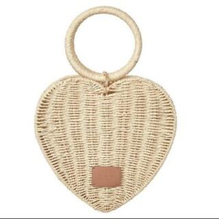snidel - her lip to Heart Shaped Basket Bag