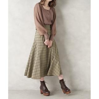 オリーブデオリーブ(OLIVEdesOLIVE)の変形切り替えロングスカート♡OLIVE des OLIVE(ロングスカート)