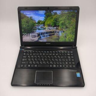 エプソン(EPSON)のEPSON 高性能第4世代Core i5搭載  スリム WEBカメラ(ノートPC)