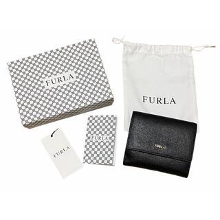 フルラ(Furla)のFURLA  フルラ 二つ折り財布 財布 ブラック(財布)