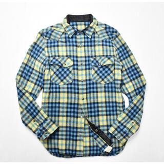 エヌハリウッド(N.HOOLYWOOD)のエヌハリウッド N.HOOLYWOOD チェックシャツ ネルシャツ 36(シャツ)