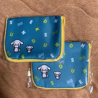 【未開封】ダスキン ダス犬デザイン マスクケース・ティッシュケース 2個セット(日用品/生活雑貨)