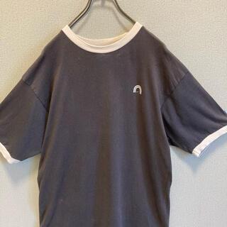 ナイキ(NIKE)の90s NIKE プリント リンガー tシャツ ゆるだぼ  vintage(Tシャツ(半袖/袖なし))