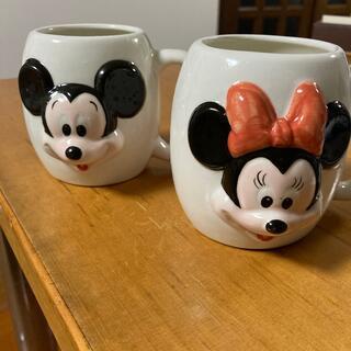 Disney - ミッキー ミニー マグカップ レトロ