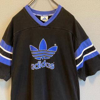 アディダス(adidas)の90s adidas ロゴ トレフォイル tシャツ ゆるだぼ  vintage(Tシャツ(半袖/袖なし))