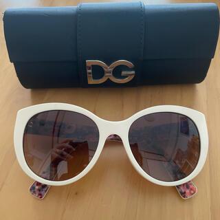 ディーアンドジー(D&G)のドルチェ&ガッパーナ サングラス 美品(サングラス/メガネ)