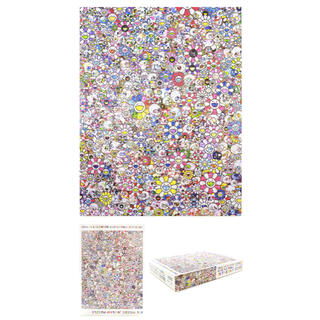 4個セット 村上隆 ジグソーパズル SKULLS & FLOWERS (その他)