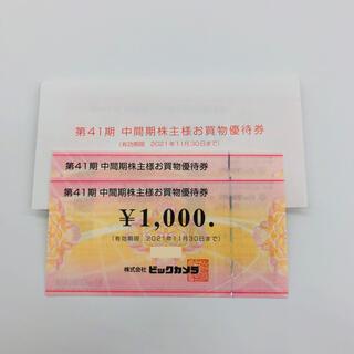 ビックカメラ 株主優待 12000円 (ショッピング)